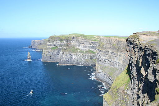 The Cliff of Moher Lahinch Ireland