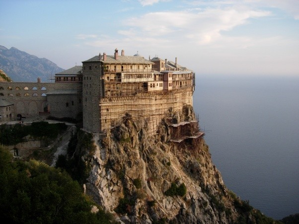 mount athos monasteries