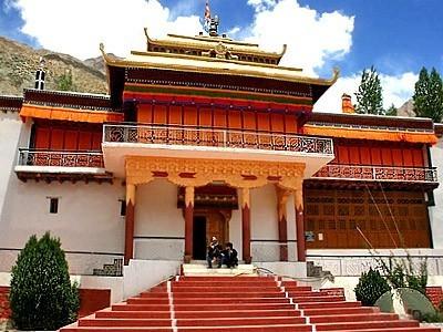 Diskit Monastery in Leh