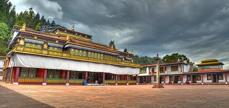 Rumtek Monastery in Sikkim
