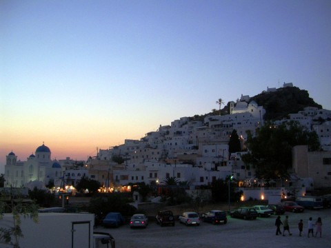 Chora Ios Sunset