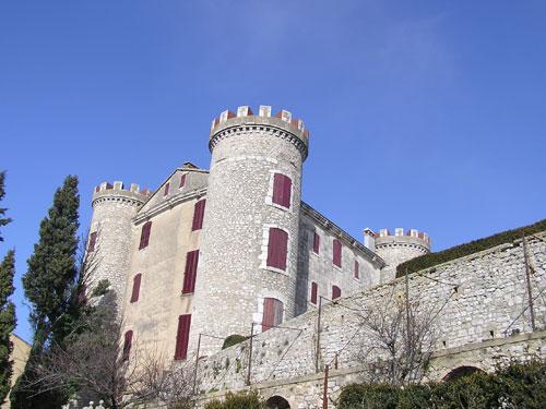 Castle of ST Martin de Pallieres