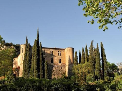 Castle of Vins sur Caramy