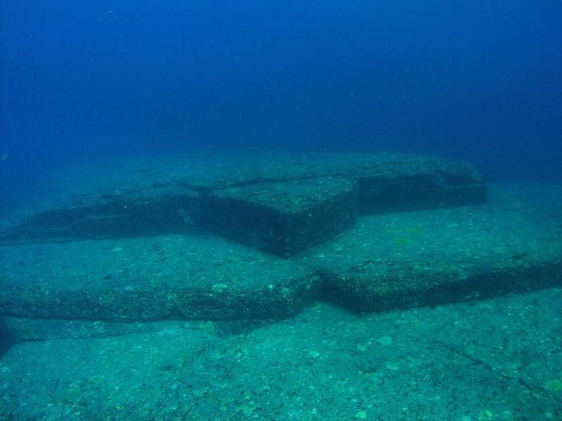 underwater ruins japan