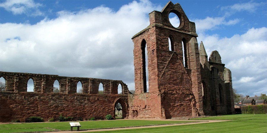 Arbroath Abbey, Scotland